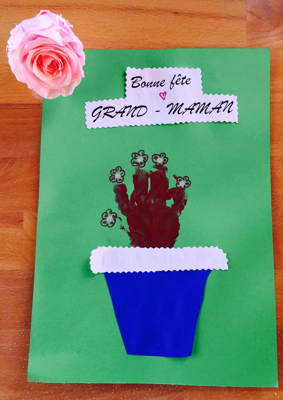 Assez Fête des mamans pour les petites mains - Bricolage company VI08