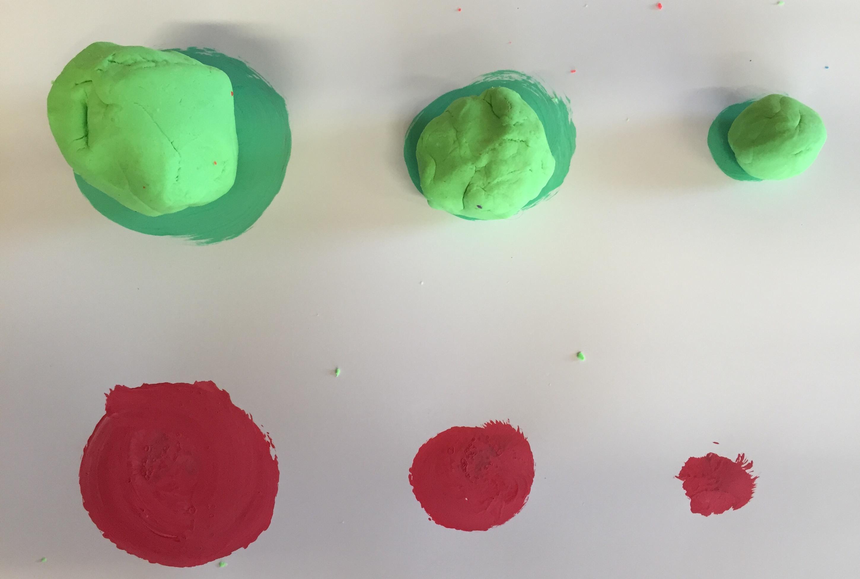 Exercice de maths avec de la p te modeler bricolage - Calcul quantite peinture ...